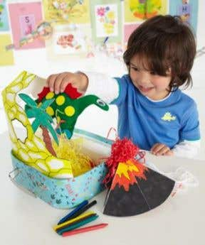 ELC Make Your Own Dinosaur And Cave