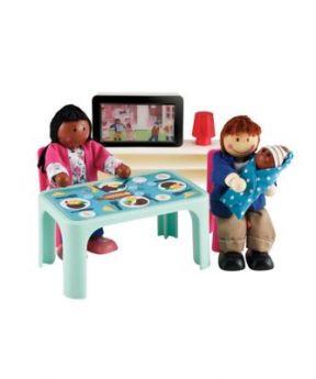 Rosebud Light Up TV Set