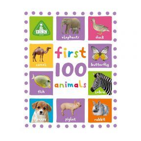 first 100 animals board book
