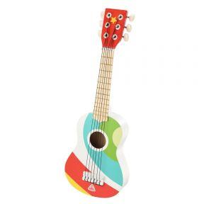 elc wooden guitar