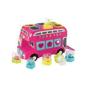 elc shape sorting bus