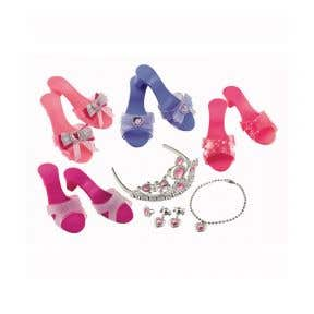 elc magical mimi dress-up shoes and jewellery set
