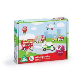 happyland vehicle puzzles