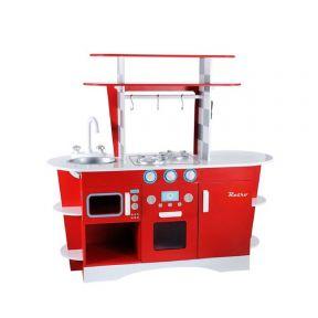 ELC Wooden Diner Kitchen - Red