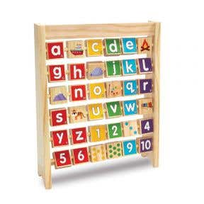 Woodlets Alphabet Abacus