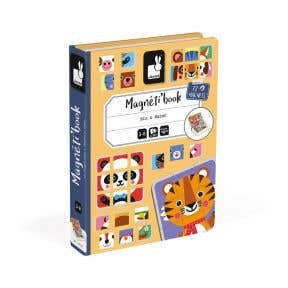 Janod Mix and Match Magnetic book