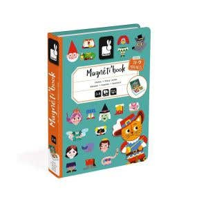 Janod Fairy Tales Magnetic book