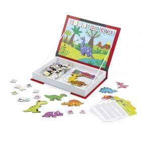 Janod Dinosaurs Magnetic book