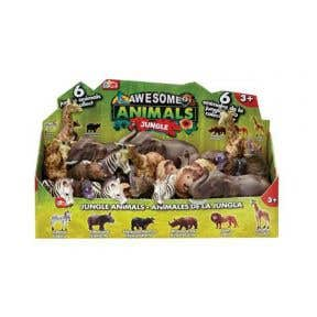 Awesome Animals Jungle Animals (Assorted Colour)