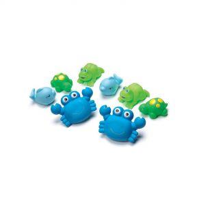 Playgro Bathtime Squirtees - 8 Pack (Boy Version)