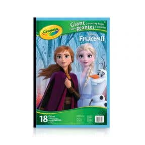 Crayola Giant Colouring Pages Disney Frozen II