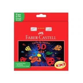 Faber Castell Colour By Number 3D