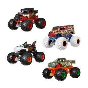 Hot Wheels Monster Trucks 1:24 Scale Diecast (Assorted Colour)