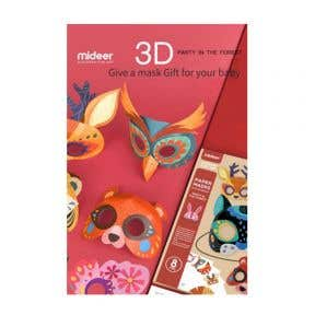 Mideer Paper Masks Party In The Forest 3D