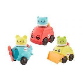 Fisher Price Dream Press & Rattle Races (Assorted Colour)