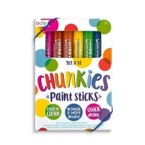Ooly Chunkies Paint Sticks - Classic - Set Of 12