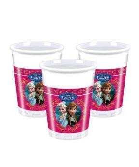 Procos Plastic Cups 8pcs 200ml Frozen
