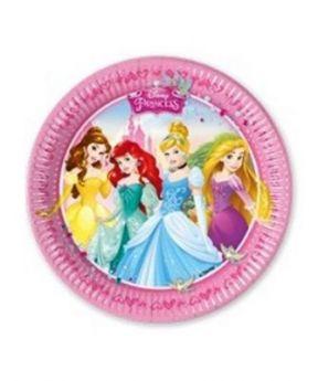 Procos Paper Plates 8pcs 20Cm Im Princess