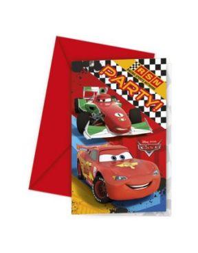 Procos Invitations 6pcs Cars RSN