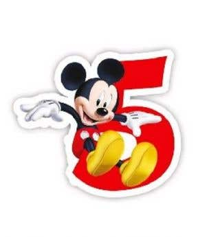 Procos Candle Playful Mickey No. 5