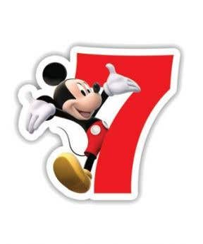 Procos Candle Playful Mickey No. 7