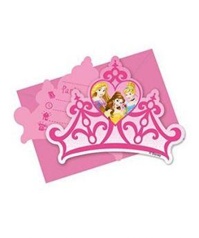 Procos Invitations & 6pcs Envelopes I 'M Princess