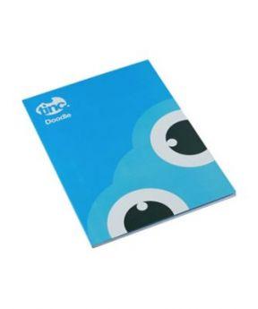 Tinc Tonkin A4 Doodle Book - Blue