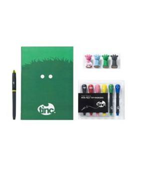 The Tincs Notebook Gift Set - Green