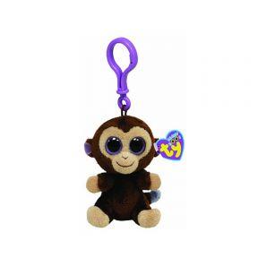 Beanie Boos Coconut Monkey Keychain