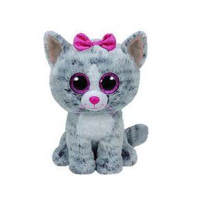 Beanie Boos Kiki Grey Cat