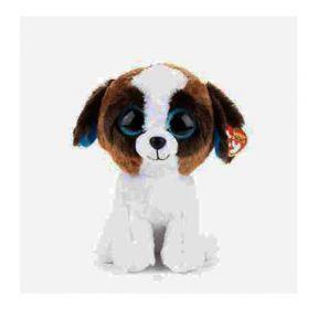Beanie Boos Duke Brown White Dog