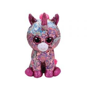Beanie Boos Flippables Pink Unicorn
