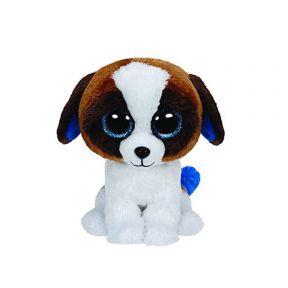 Beanie Boos Dog Brown/white Backpack- Duke