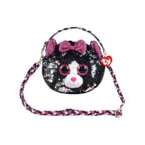 Beanie Boos Sequins Shoulder Bag Kiki - Cat