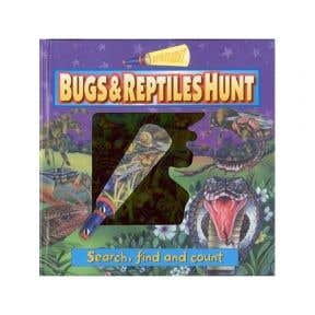 Popular Books Search And Find Spotlight : Bugs & Reptiles Hunt