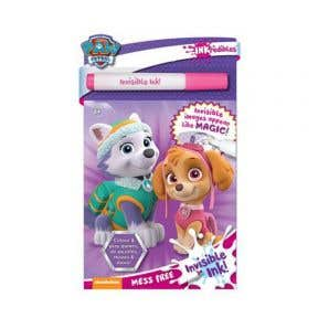 Starbooks Paw Patrol Pink Invisible Ink
