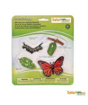 Safari Ltd. Life Cycle of a Monarch Butterfly