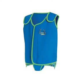 Zoggs Baby Wrap - Blue/Green