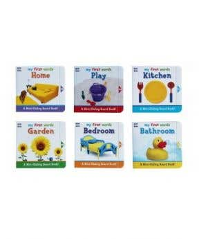 Your Baby Can Read: 6 Mini Sliding Board Books