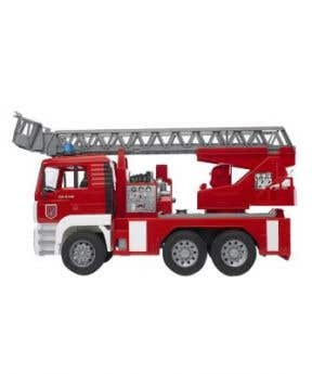 Budder MAN TGA Fire Engine With Selwing Ladder