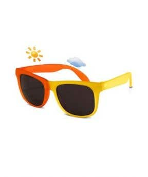 Real Shades Toddler Switch Color Changing Sunglasses 2 + (Yellow/Orange)