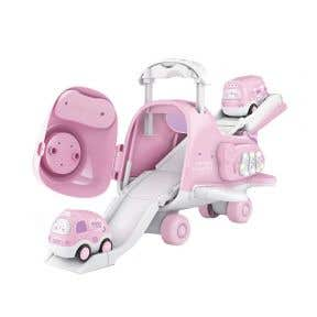 Okiedog Airplane Track World - Pink
