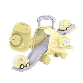 Okiedog Airplane Track World - Yellow
