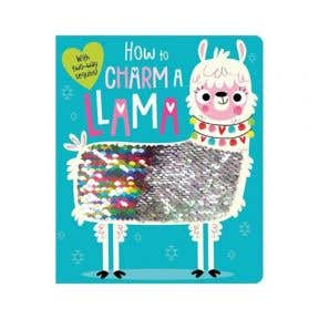 Starbooks Twoway Sequin Board Book : How to Charm a Llama