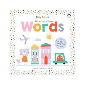 Starbooks Tiny Town Hide Seek Board Word