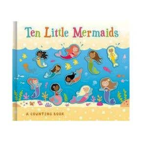 Starbooks 3D Counting To Ten Books : Ten Little Mermaids Counting Book