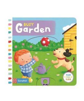 Starbooks Push Pull Slide: Busy Garden