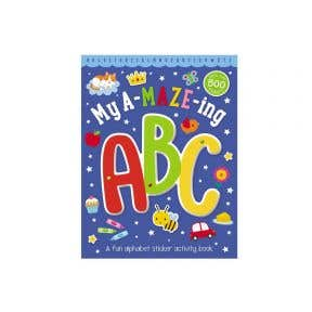 Starbooks My A-Maze-Ing ABC Activity Book