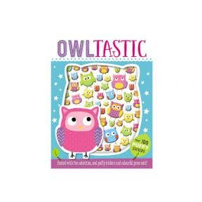 Starbooks Puffy Stickers Owltastic