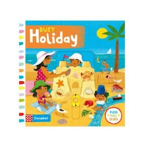 Starbooks Push Pull Slide: Busy Holiday